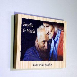 Fotos sobre madera