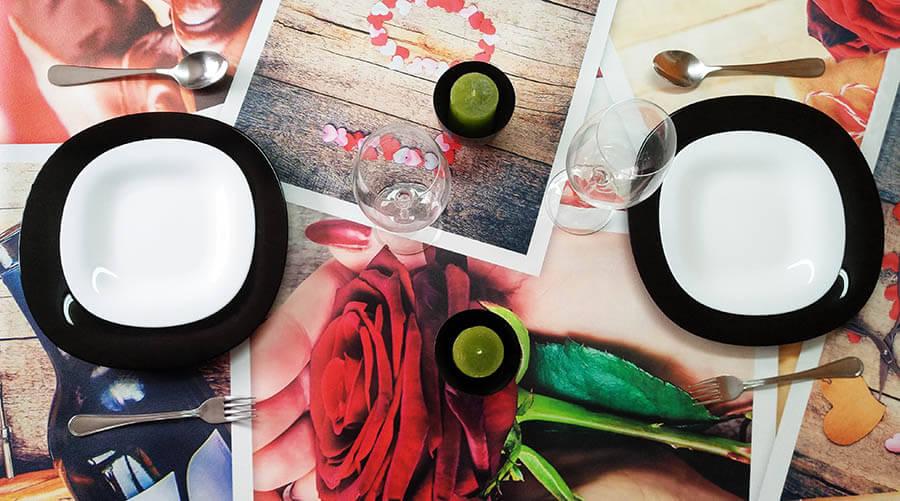 manteles de mesas originales